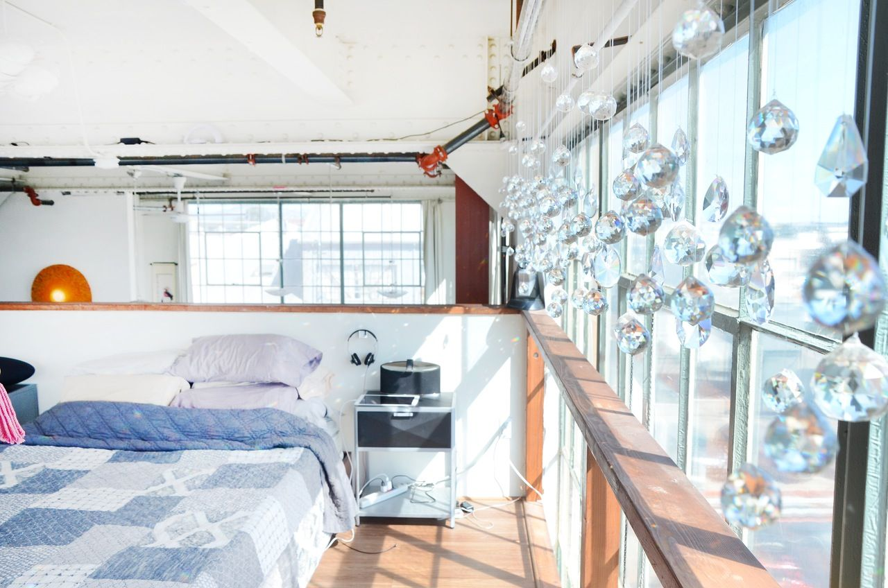 A Muppets Go To Burning Man Style Loft In Oakland House Tours Oakland Apartment House