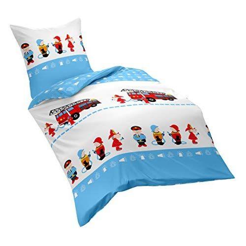 Dream Art Kids Bettwäsche Set Baumwolle Blau 100 X 135 Cm