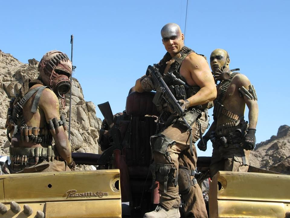 """The set of """"Mad Max: Fury Road""""."""