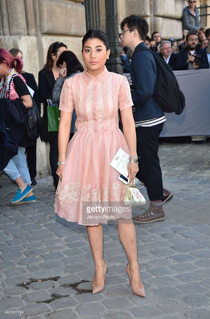 addd32900b9 Princess Siriwanwaree Nareerat is arriving at Dior Fashion Show during the  Paris Fashion Week S S 2016  Day 4 on October 2