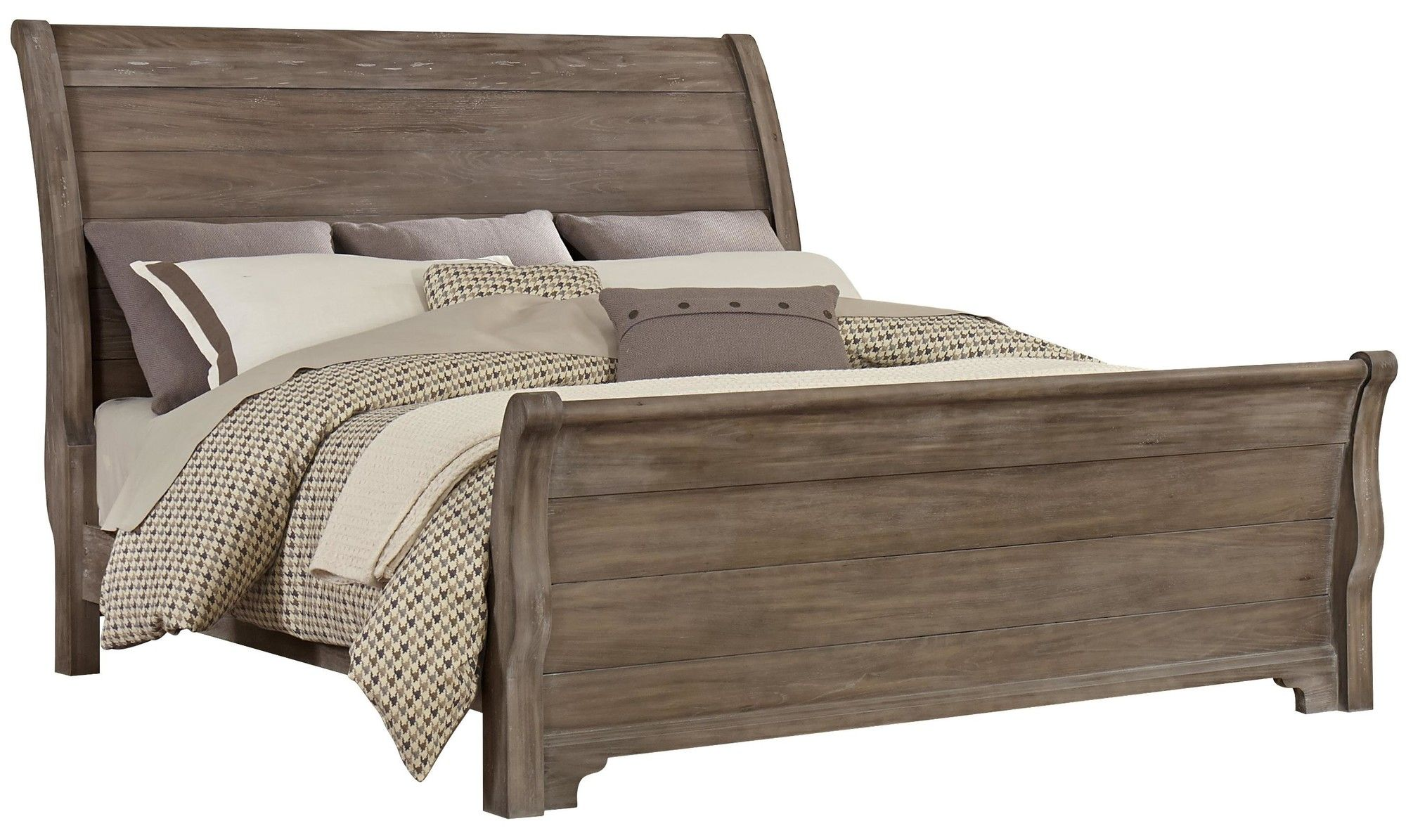 Joss And Main Bed Linens Luxury Wood Platform Bed King Sleigh Bed
