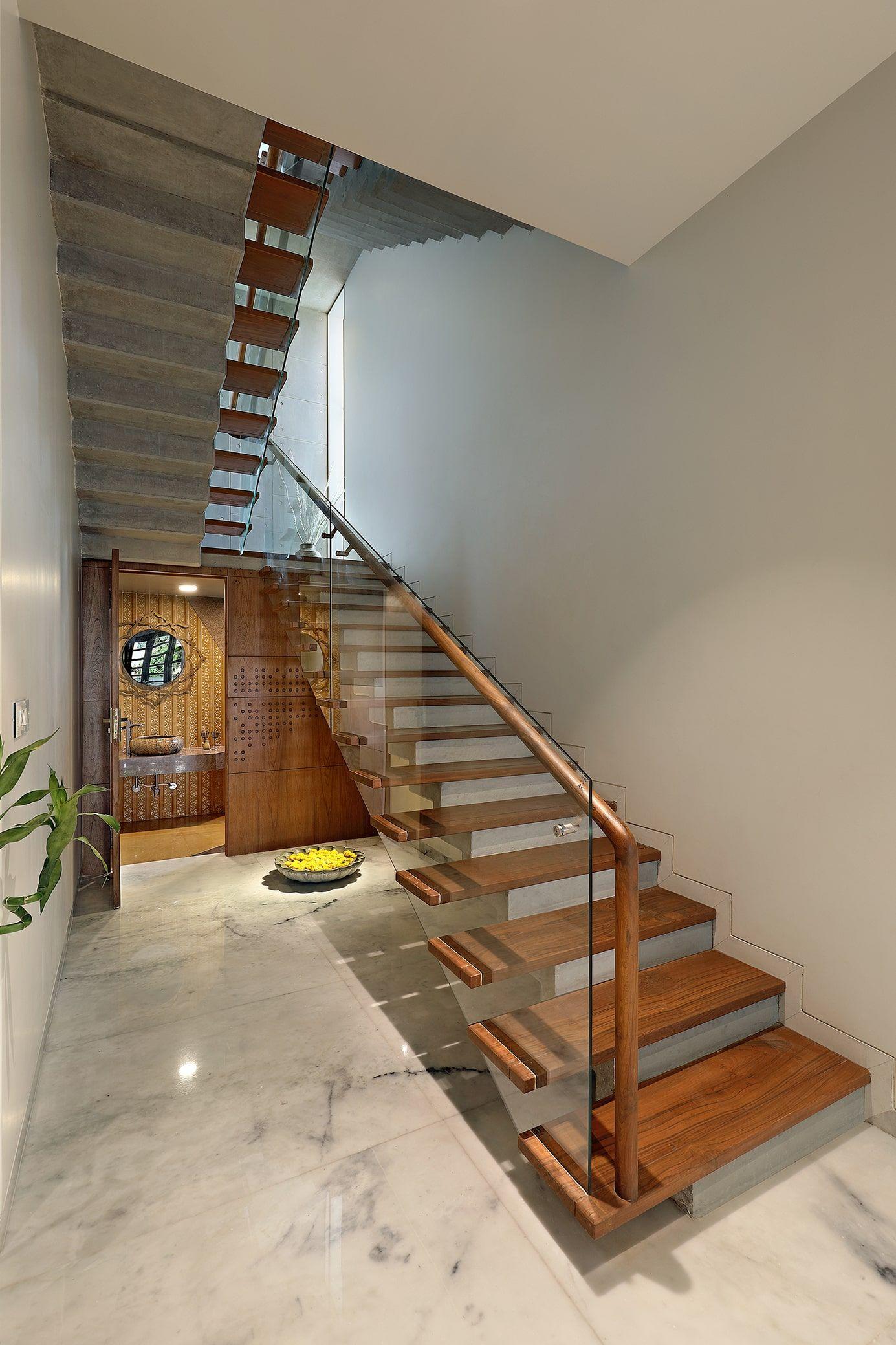 45° Brick House   A+T Associates   House gate design ...