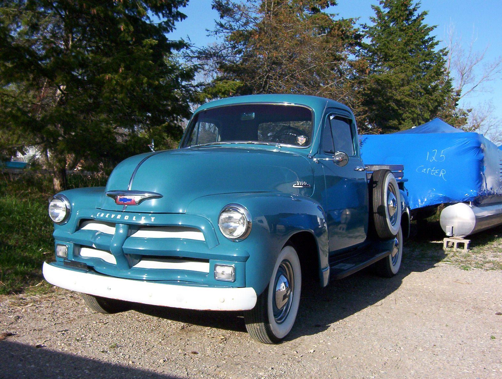 1954 chevrolet pick up truck | warren | Pinterest | Chevrolet, GMC ...
