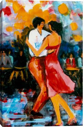 POSTER FESTIVAL OF MODERN DANCE MYRA KINCH GROUP DANCING VINTAGE REPRO FREE S//H