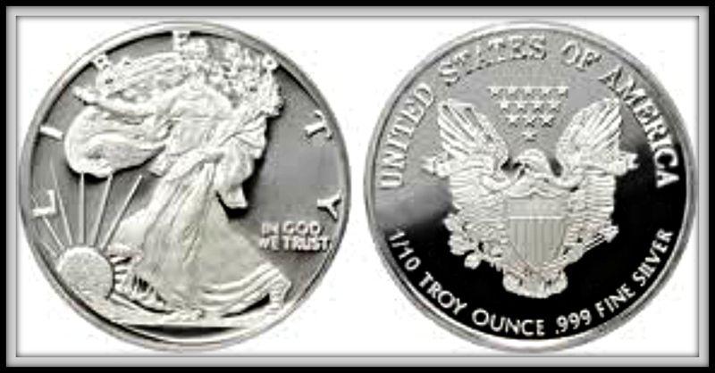 1 10 Oz Silver Round Walking Liberty Design 999 Fine Read Descriptions Payment S H C0025 Gold Bullion Coins Silver Eagles Gold And Silver Coins