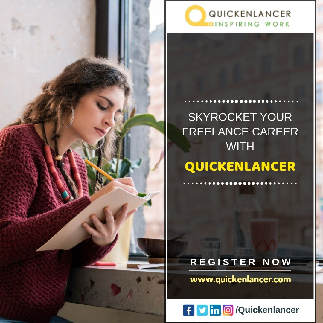 Boost Your Freelancing Career with Quickenlancer.