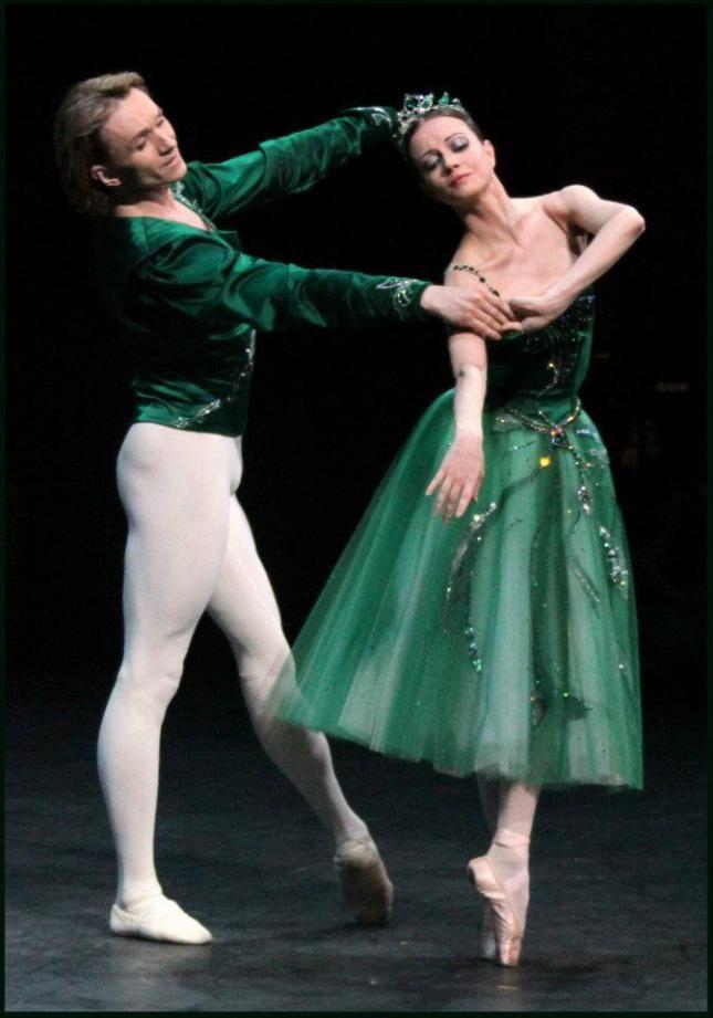 Nina Kaptsova and Dmitry Gudanov, u201cEmeraldsu201d from u201cJewels - dance resumeresume prime