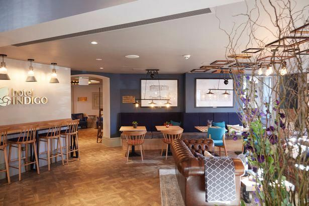 Hotel Indigo Interior Design Durham County North East England Modernhomedesign