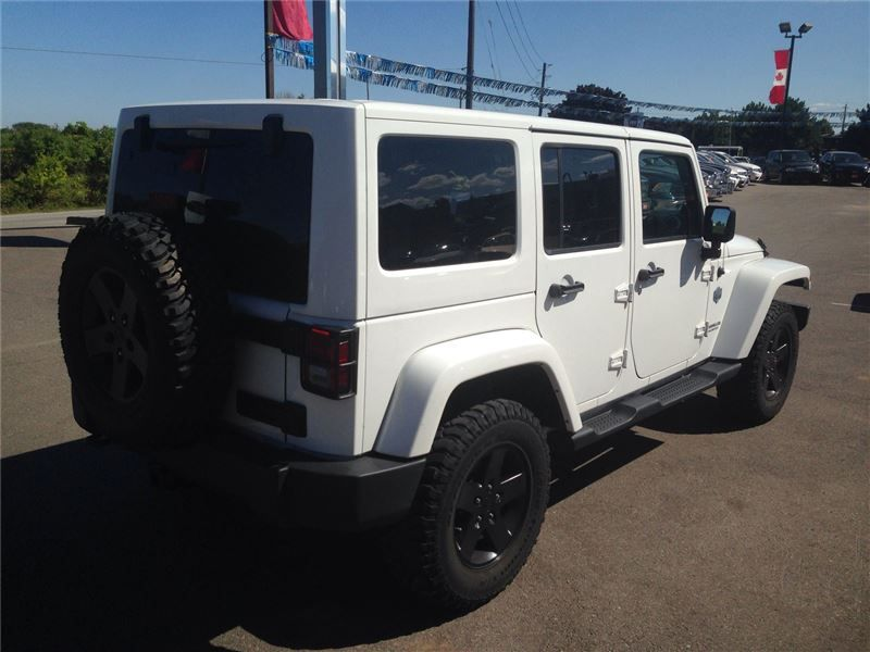 """Sport Utility 2012 Jeep Wrangler SaharaArctic Edition"