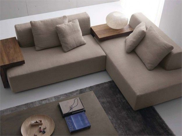 Arredare con il tortora - Divano color tortora | Living rooms ...