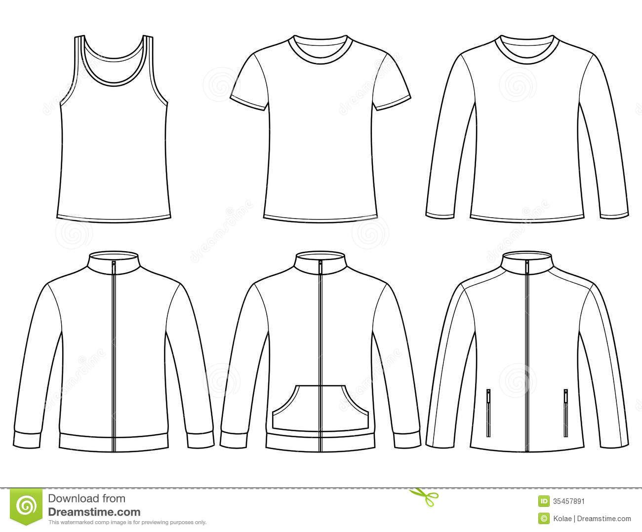 singlet-t-shirt-long-sleeved-t-shirt-sweatshirts-jacket-t-template-isolated-white-background-35457891.jpg 1,300×1,078 pixels