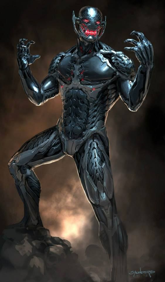 Avengers: Age of Ultron concept art - Ultron by Phil Saunders *