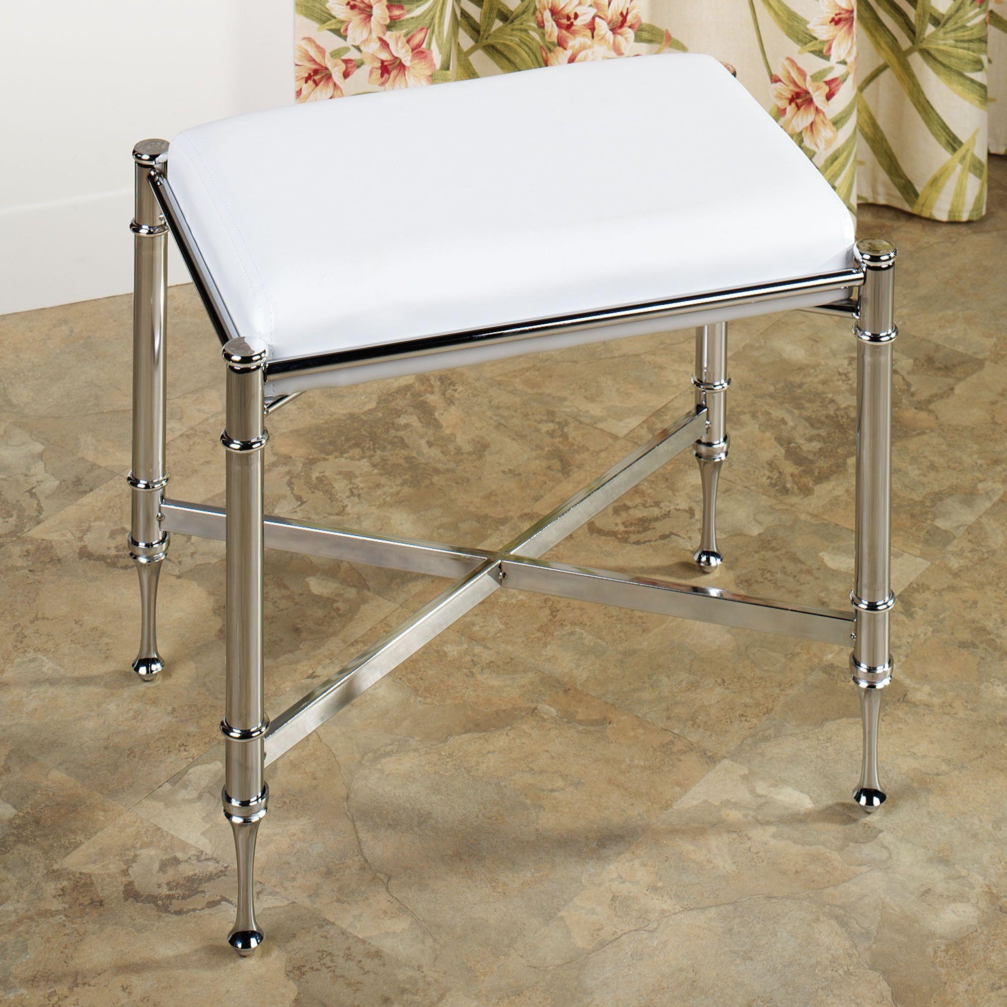 Estate Upholstered Vanity Bench | Vanity bench, Benches and Vanities