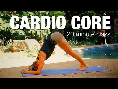 Cardio Core: 20 min Yoga Class - Five Parks Yoga - YouTube