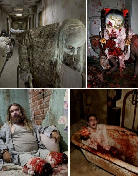 haunted-houses-13th-gate Creepy Things Pinterest Haunted