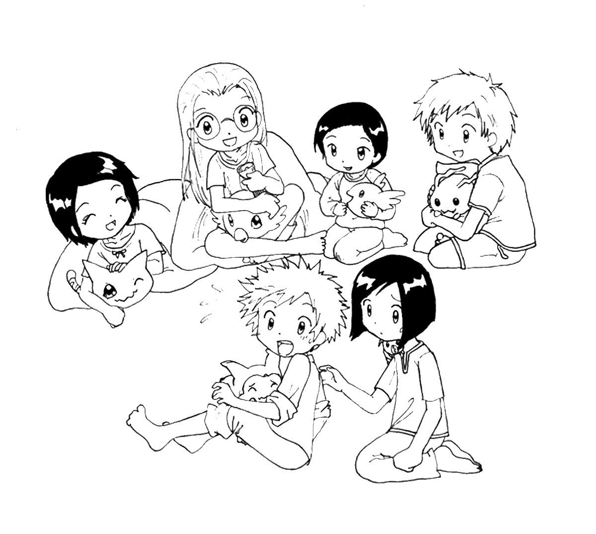 pajama_10.jpg (1200×1075) | Colouring Pages | Pinterest
