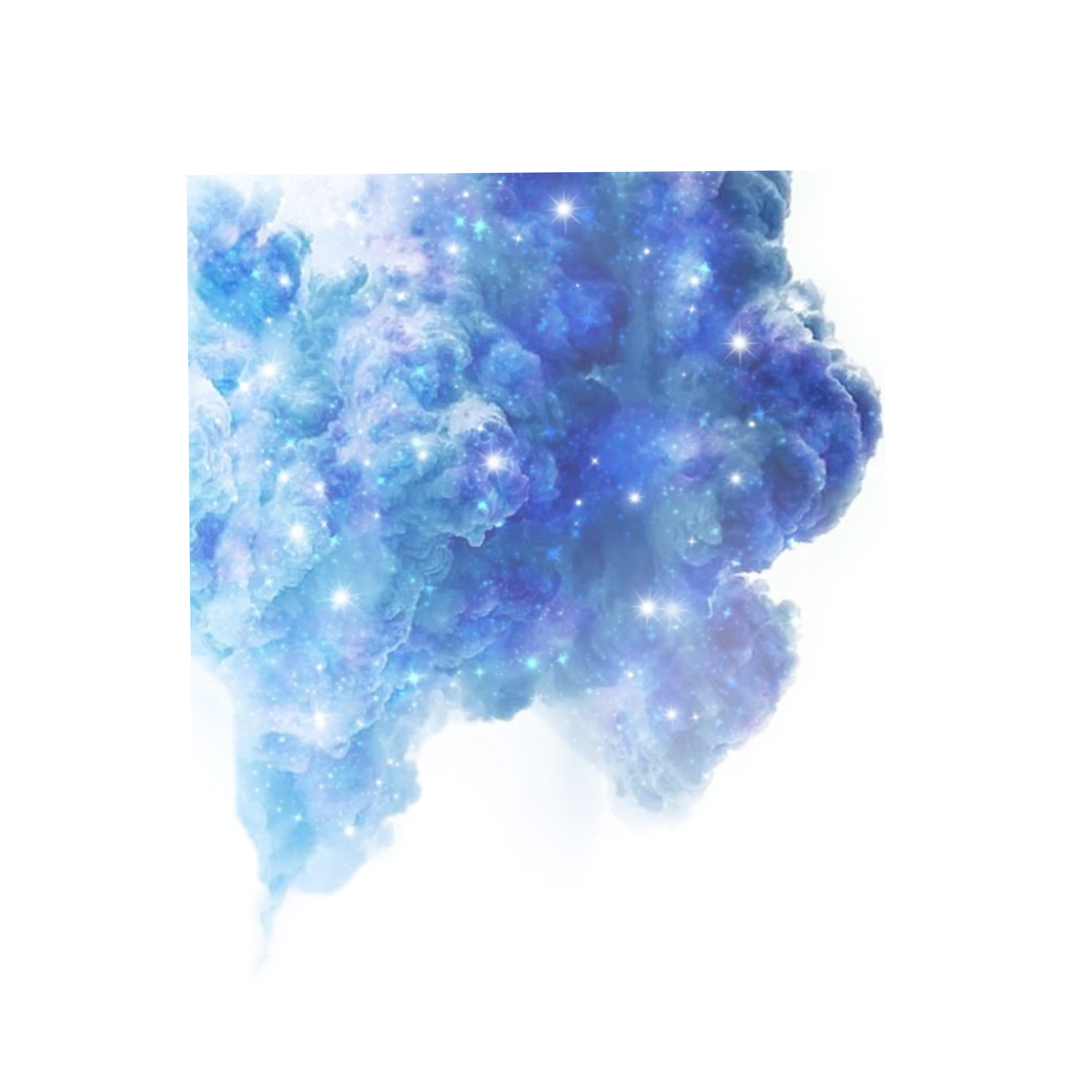 Freetoedit Blue Stars Clouds Galaxy Background Overlay Remixed From Seyyyahh Pretty Wallpapers Cloud Stickers Overlays
