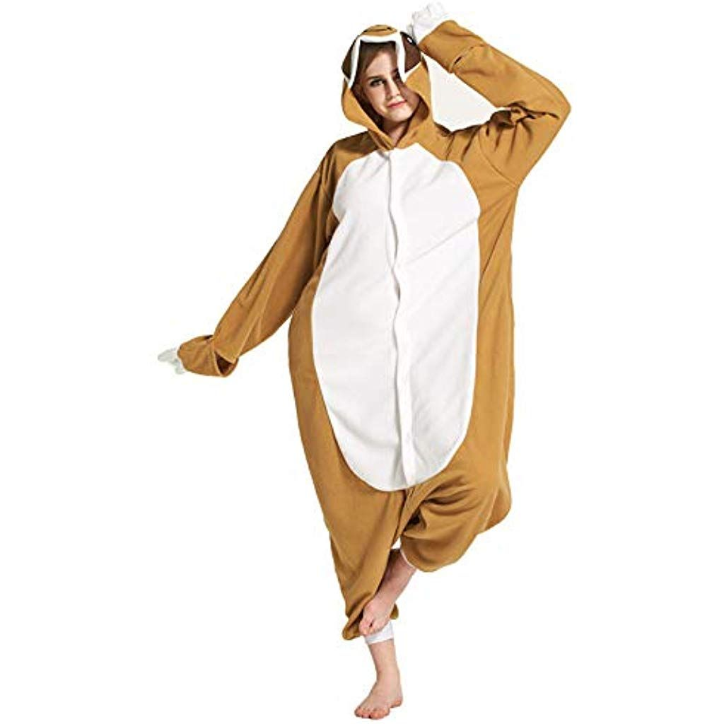 Gatto Nero per Altezze da 140 a 187 cm Pigiama Anime Cosplay Halloween Costume Attrezzatura Adulto Animale Onesie Unisex