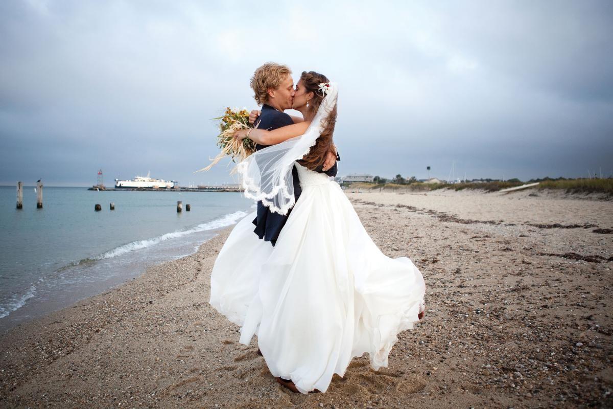 Adriana Vetrano Ben Cornell Ceremony Trinity United Methodist Church Reception The East Chop Beach Club Island Weddings
