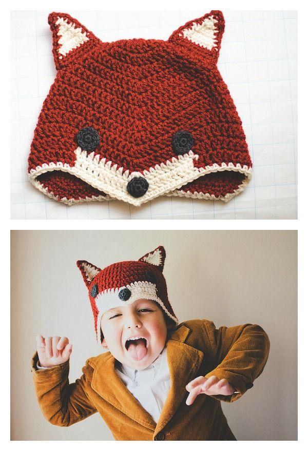 10+ Crochet Fox Patterns | Häkelmuster und Häkeln