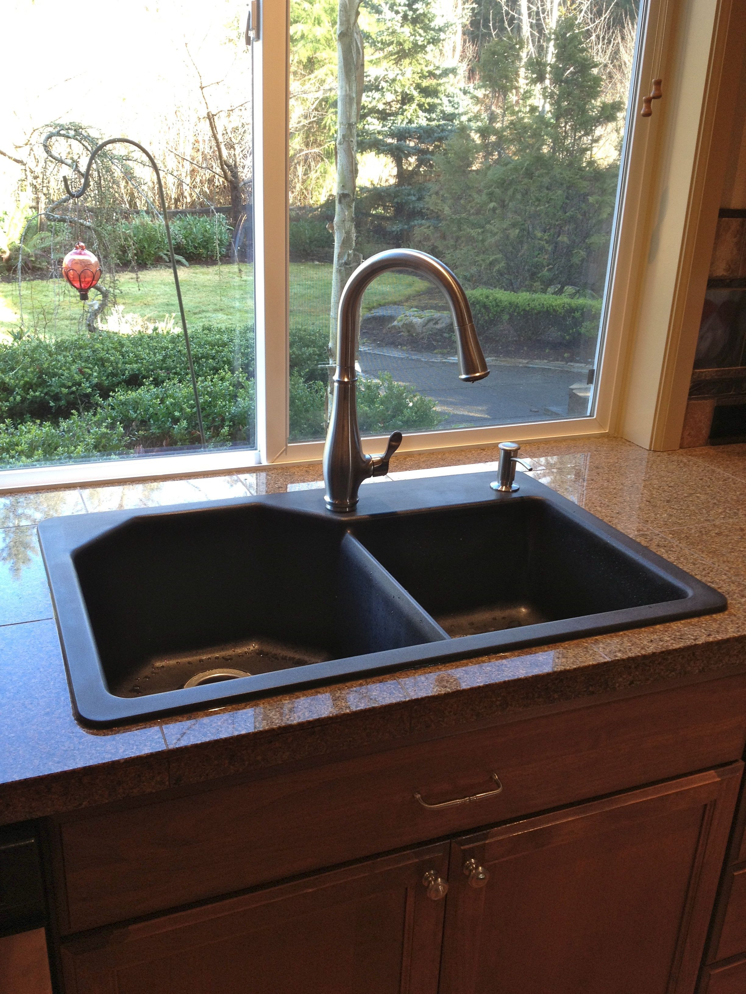 Granite composite sink. Home of cookiescakespiesohmy.com | New house ...
