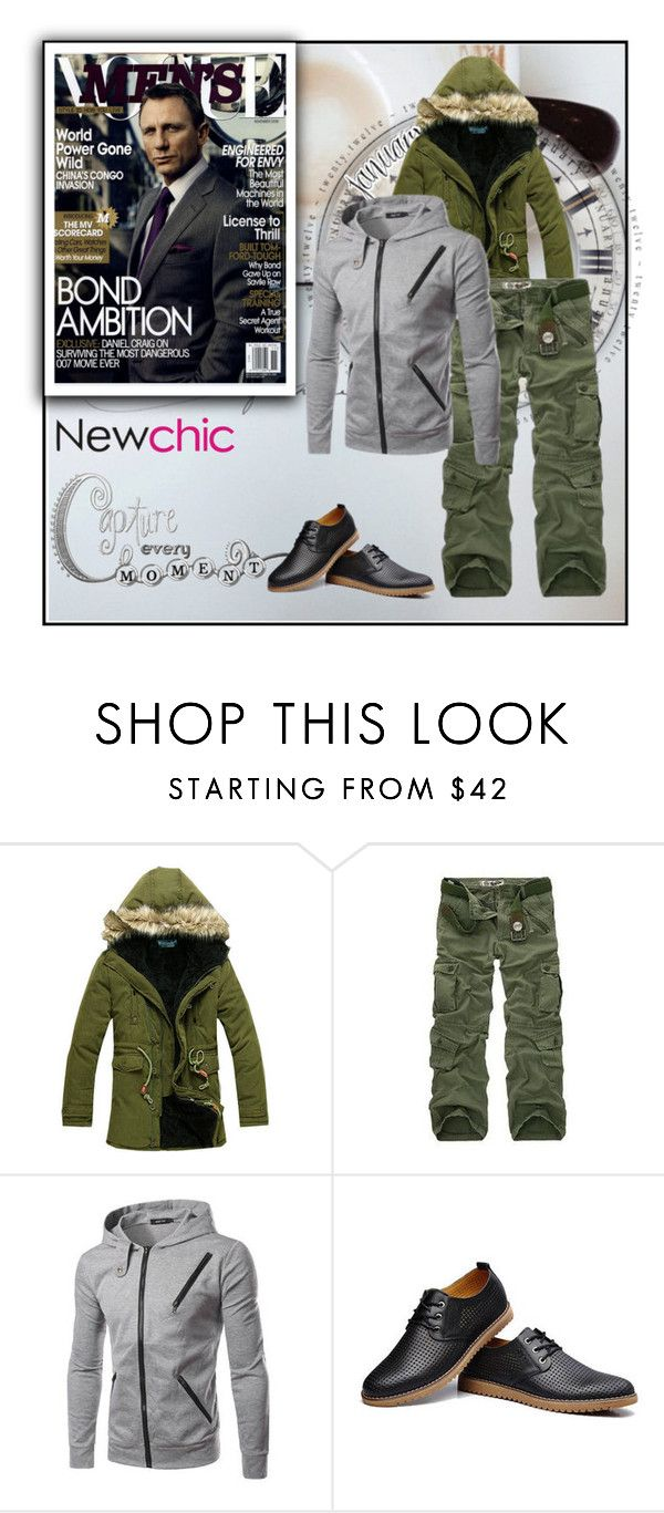 """""""NEWCHIC.COM 2/55"""" by blagica92 ❤ liked on Polyvore featuring men's fashion, menswear and newchic"""