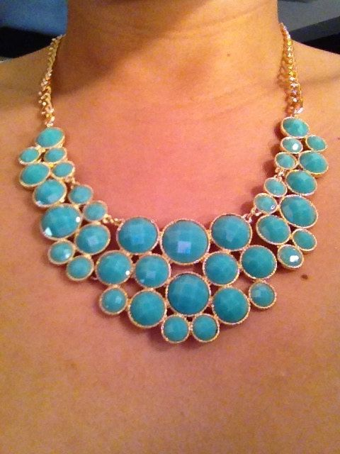 Beautiful flowered Necklaces via Etsy