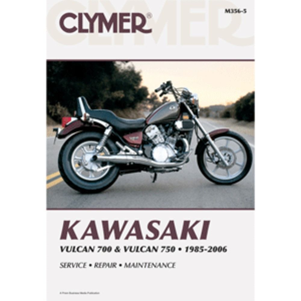 Clymer Kawasaki Vulcan 700 & Vulcan 750 - Boat Parts for Less
