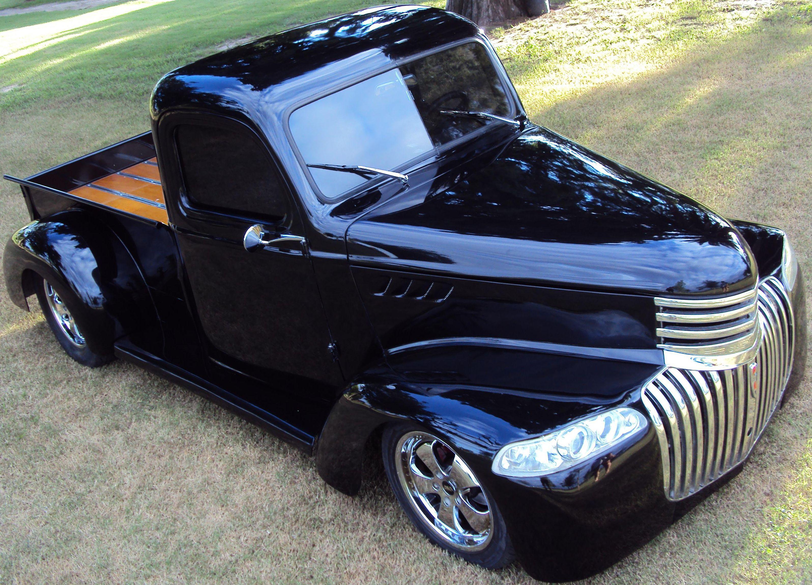 Chevrolet 1946 Pick Up 5 años de restauración. Street rod. Es única ...