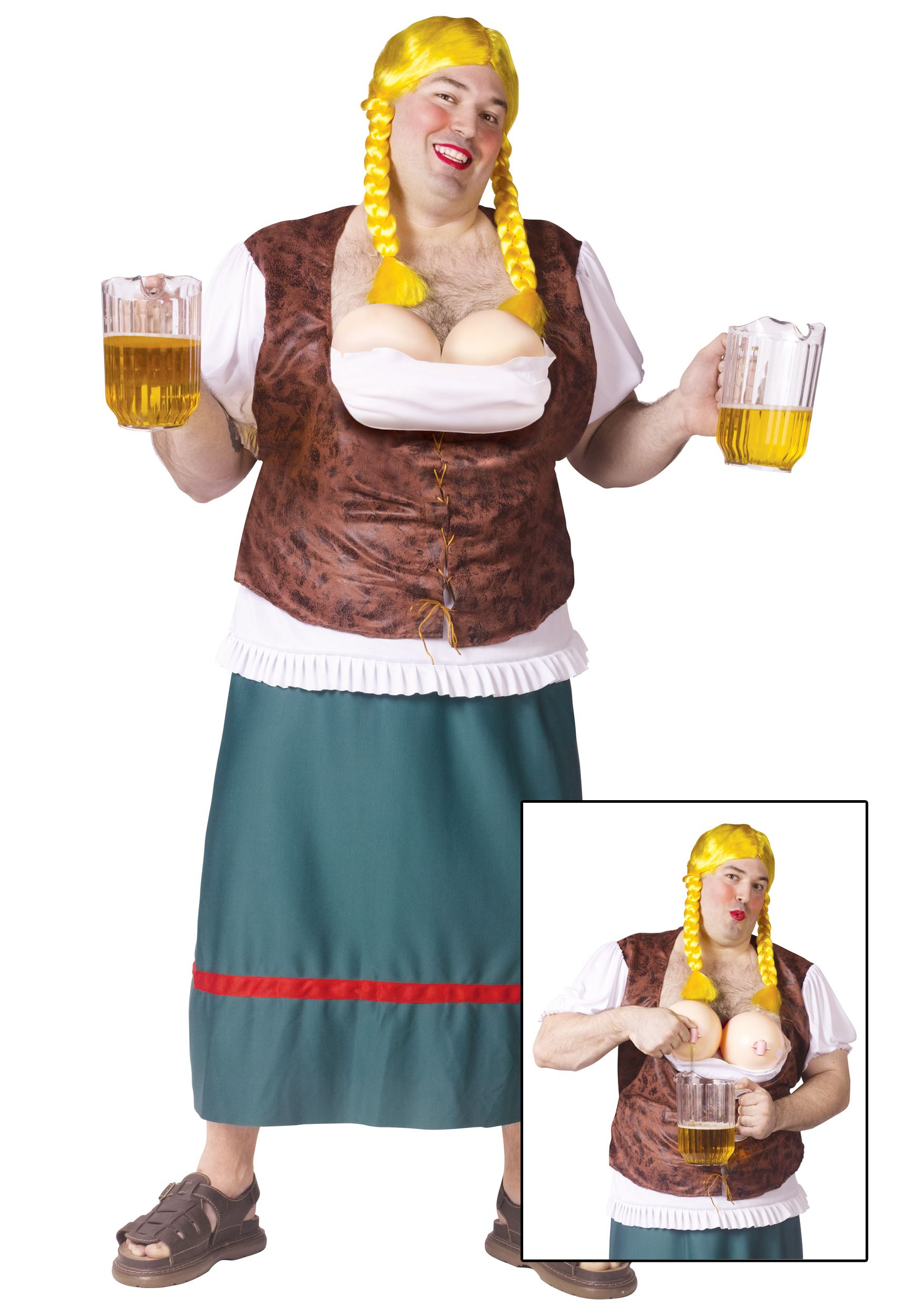 912a13fcab2 Plus Size Mens German Beer Girl   Fun Stuff   Beer girl, Oktoberfest ...