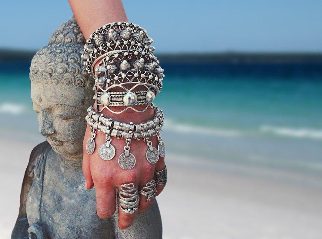Afbeeldingsresultaat voor bohemian style sieraden