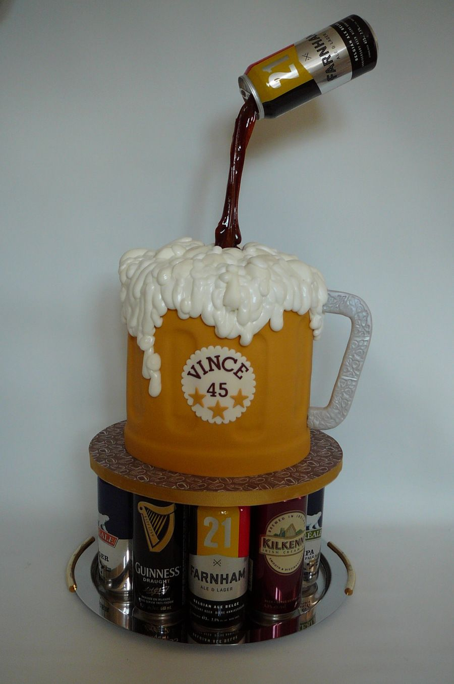 Bock Biere Bock Bière Food Idea Cake Cakes For Men Beer