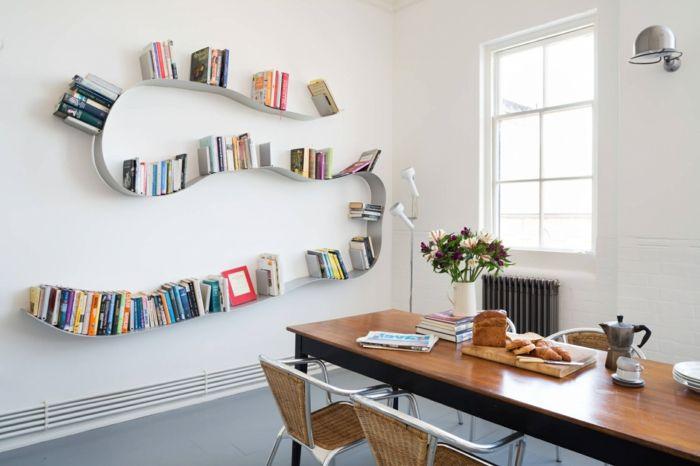 1001 ideas de decoraci n con librer as para tu casa for Librerias salon modernas