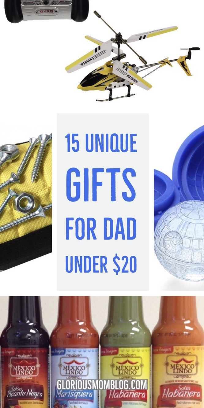 15 unique gifts for Dad under $20 | Unique gifts for dad ...