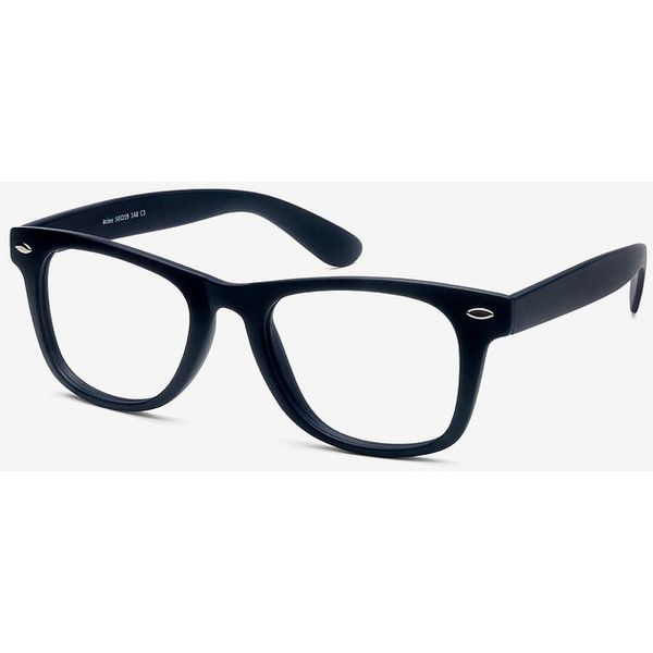 Men's Atlee - Matte navy square plastic - 16341 Matte navy Rx... ($19) ❤ liked on Polyvore featuring men's fashion, men's accessories, men's eyewear, men's eyeglasses, mens eyewear and mens eyeglasses