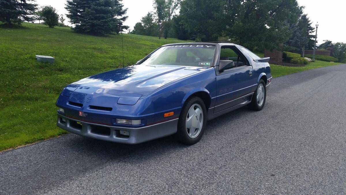 1989 Dodge Daytona Dodge Daytona Dodge Daytona