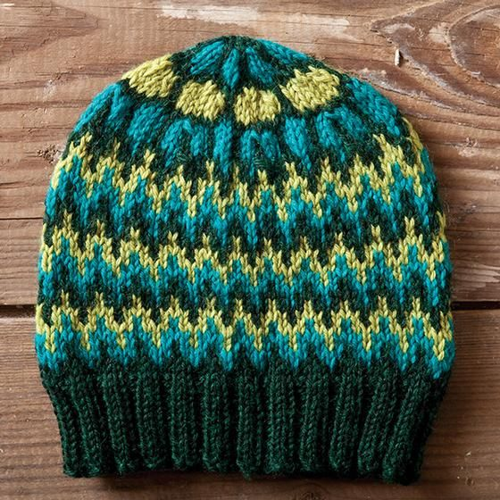 Free, worsted wt, Lampwork Hat & Mitts (sport wt) Pattern ...