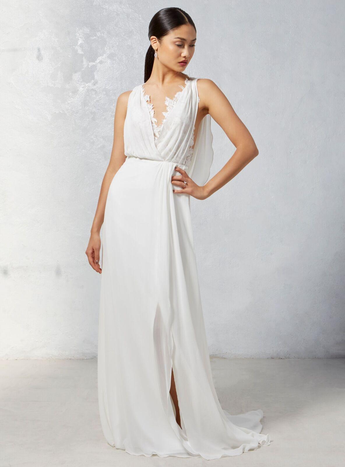 Draped Grecian Wedding Dress