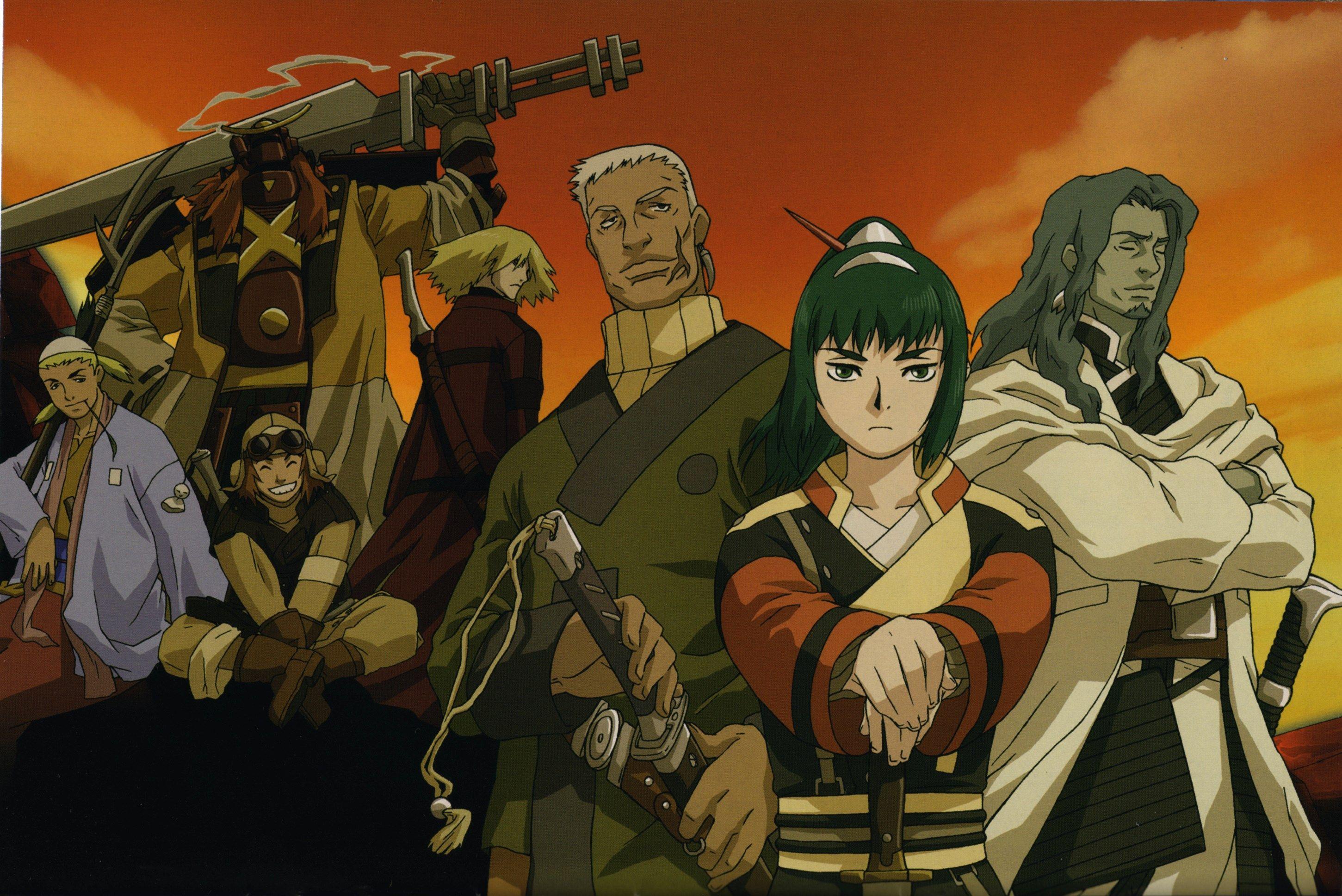 2901x1937 wallpapers free samurai 7 Seven anime, Anime