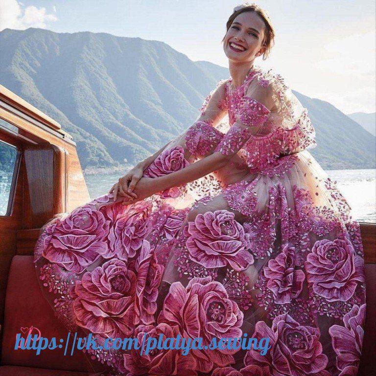 Dorable Vestido De Novia De Marchesa Embellecimiento - Vestido de ...