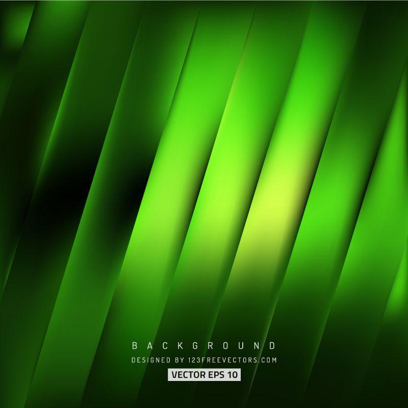 Black Green Stripes Background Design Striped Background