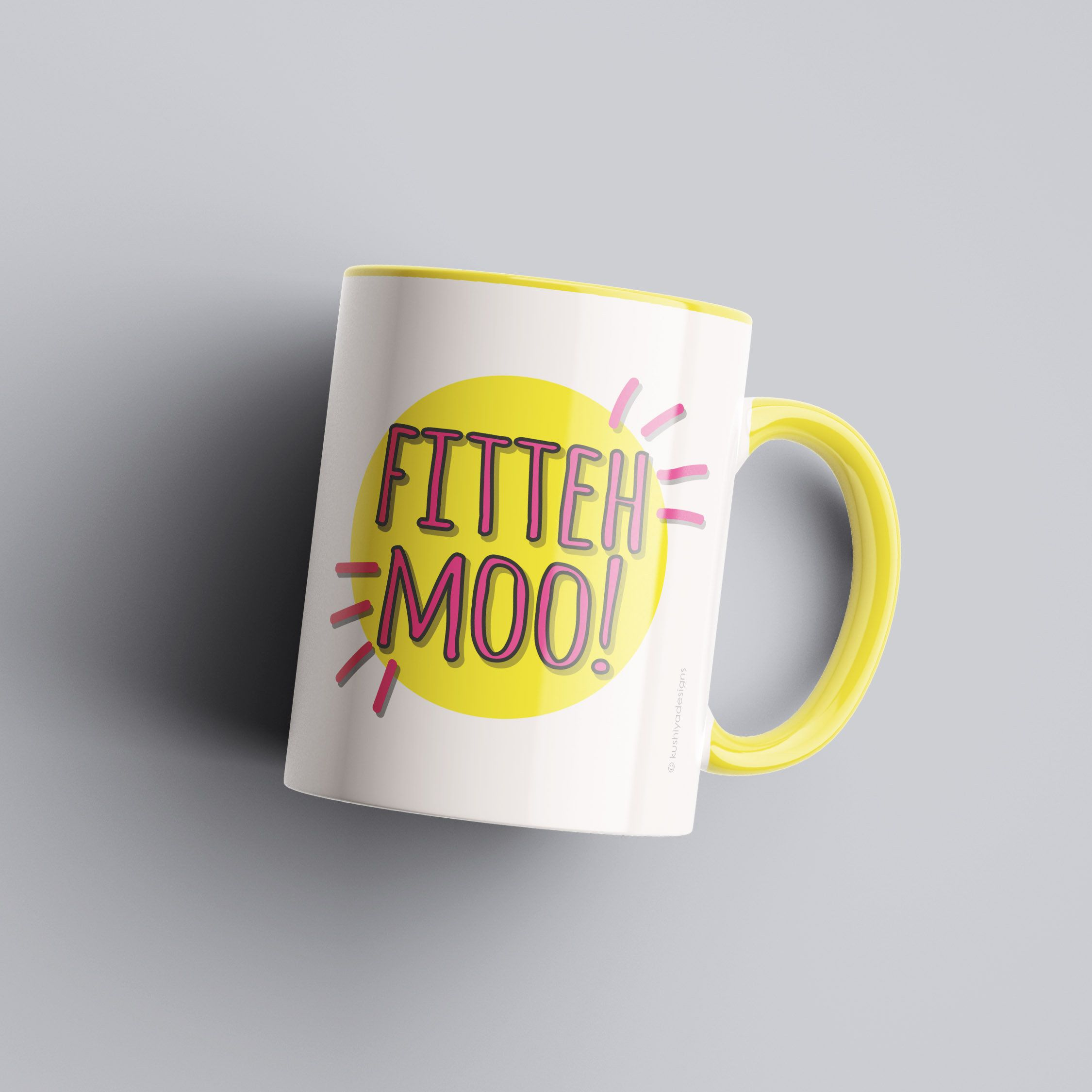 Fitteh moo mug gift idea for friend colleague brother