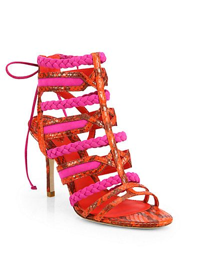 B Brian Atwood - Felisa Strappy Sandals - Saks.com