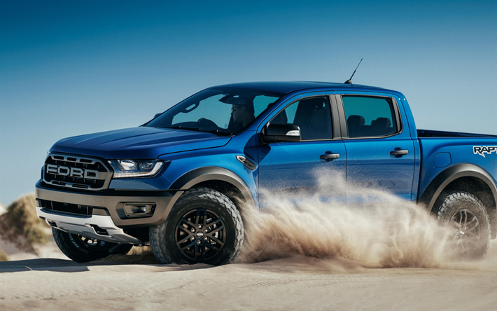 Download Wallpapers Ford Ranger Raptor 2018 4k New Blue Pickup Truck American Cars Blue Ranger Raptor Besthqwallpapers Com Ford Ranger Raptor Ford Ranger 2020 Ford Ranger