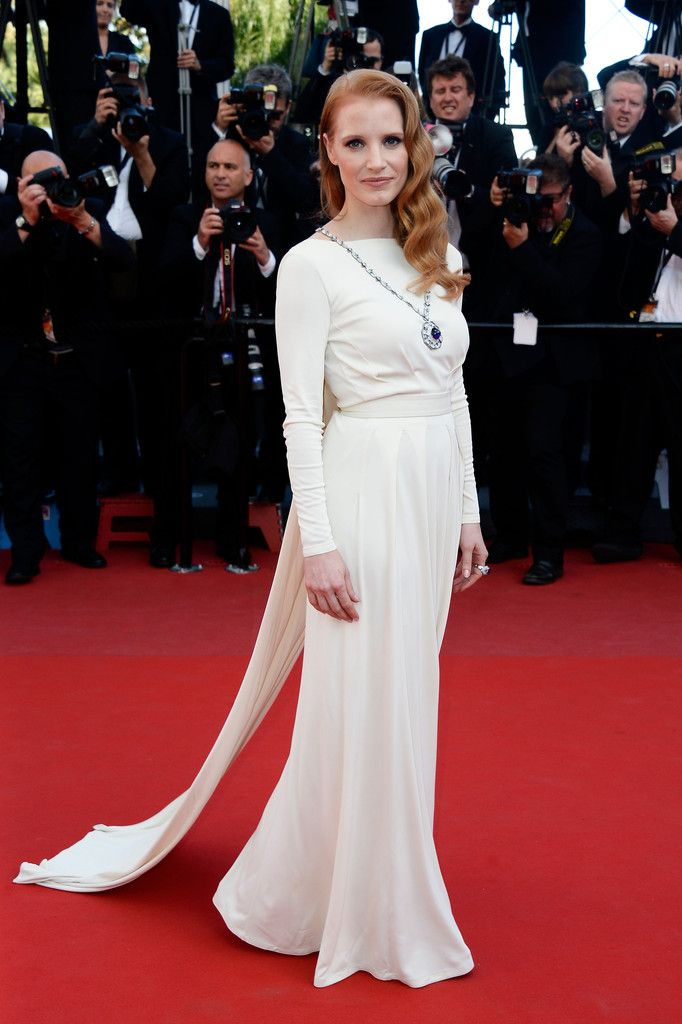 Comprar Alfombra Roja Jessica-chastain-versace-collection-cleopatra-2013-cannes