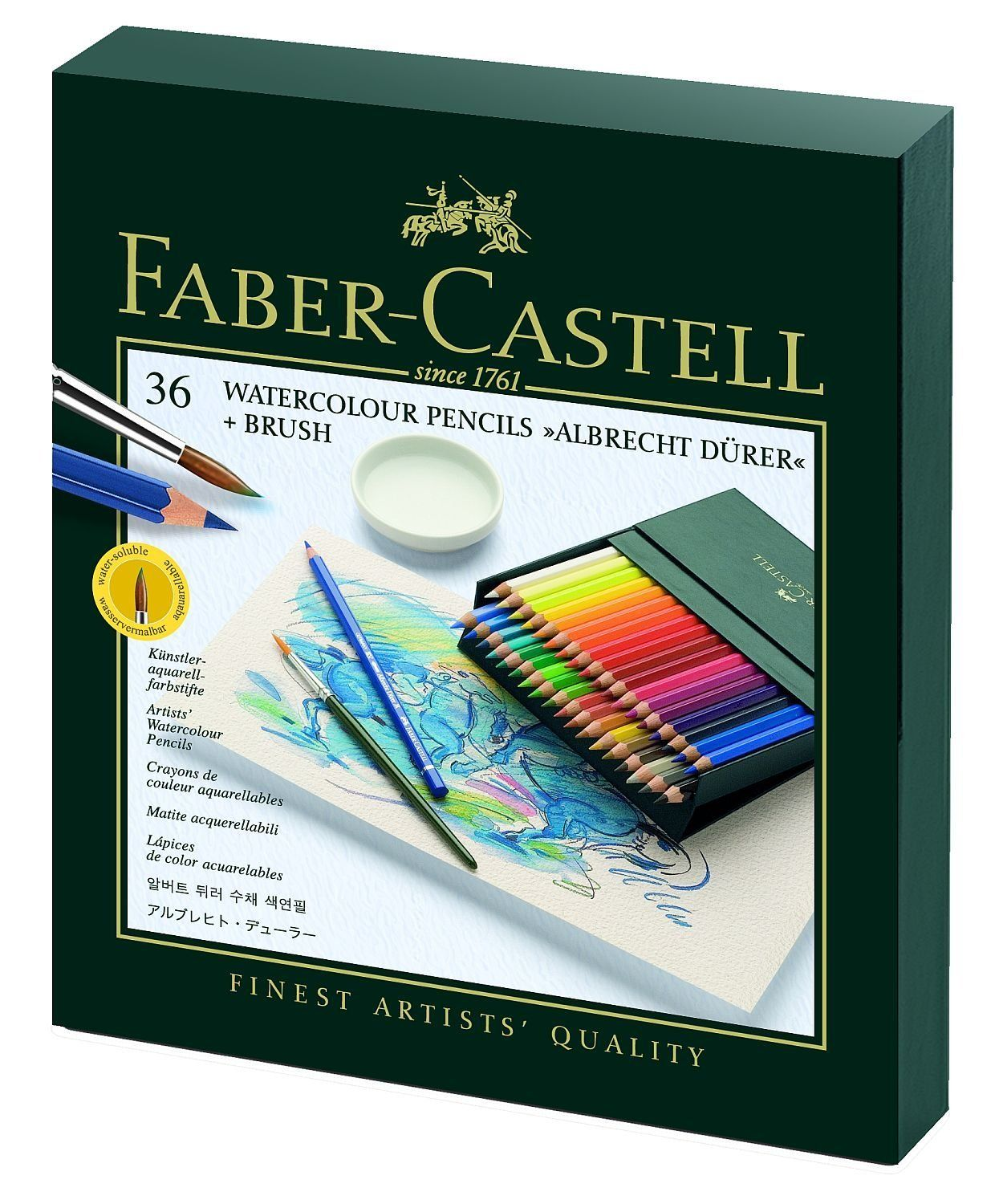Amazon Com Faber Castell Albrecht Durer Wc Pencils Gift Set Of