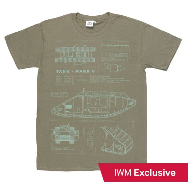 Tank mark v blueprint t shirt the mark v was the iconic tank of tank mark v blueprint t shirt the mark v was the iconic tank of malvernweather