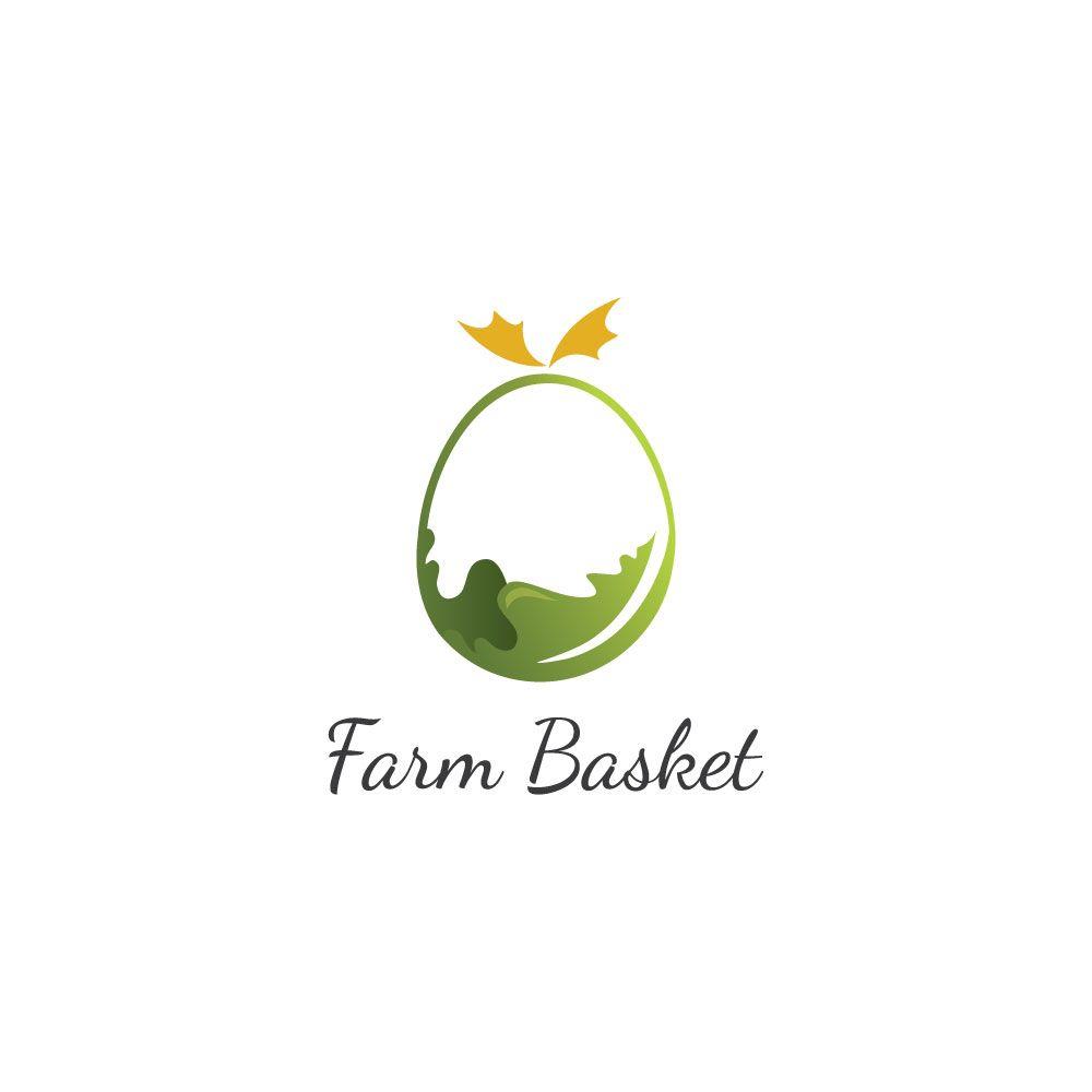 Organic Food Supermarket Logo