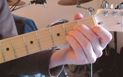 Pictures Of Hand Position W Chords Numbered To Indicate Finger Placement