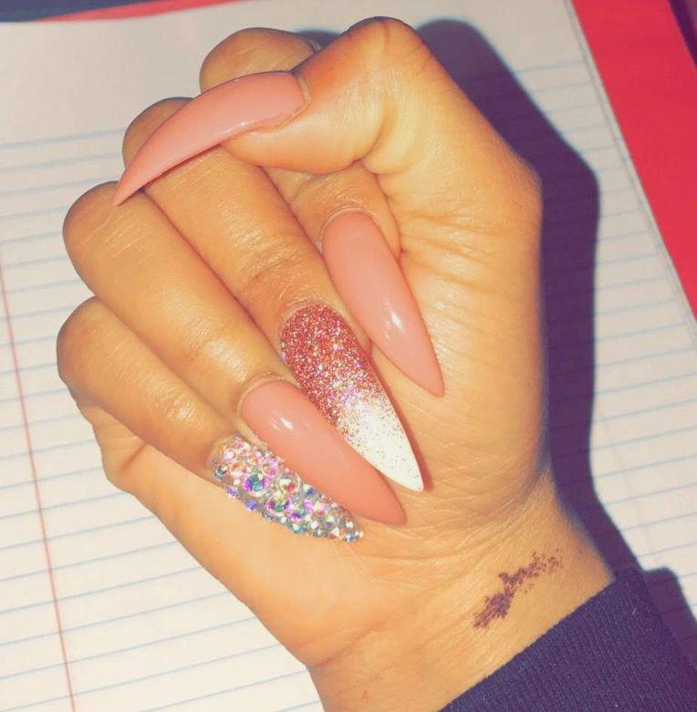 hayliepowers | Nails | Pinterest | Acrylics, Nail nail and Makeup